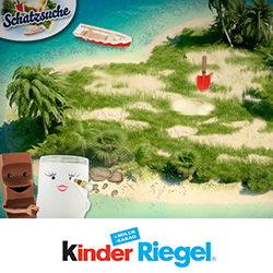 kinder Riegel Schatzsuche – FB-App