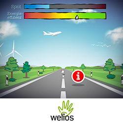 Welios Fahrerbank – Exponat Anwendung